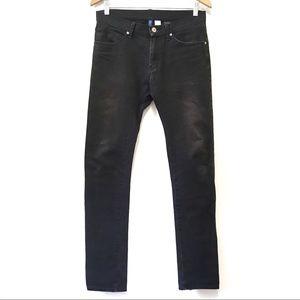 H&M Divided Black Skinny Jeans Size 28